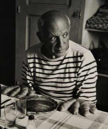 «Picasso and the Loaves», Robert Doisneau, 1952
